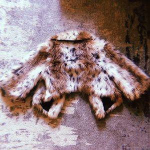 Jolt Cropped Fur Jacket